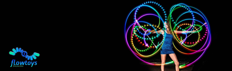 Flowtoys Glow Staffs